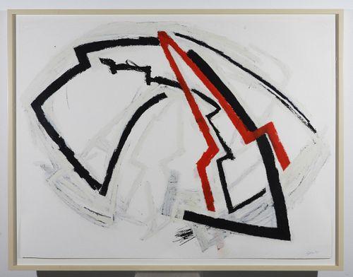 Michael Gitlin Abstract Mixed Media Painting