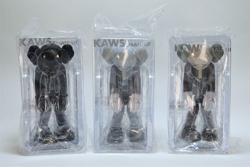 3PC KAWS Small Lie Factory Sealed Sculpture Group