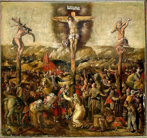 Important Old Master Crucifixion  Joseph Heintz