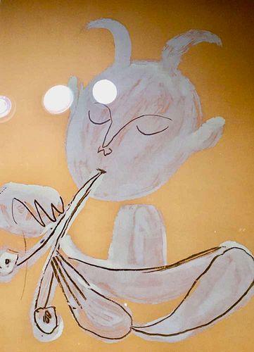 """Pablo Picasso: """"Faunes et Flores d'Antibes"""", 1960"""