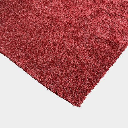 Red Handtufted Wool Rug