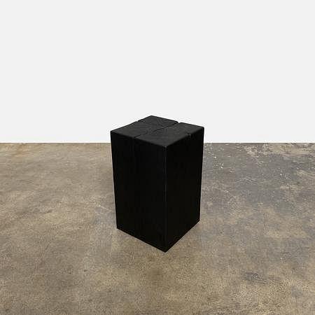 Custom Solid Cedar Side Table