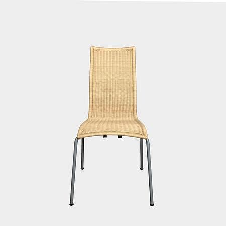 Alchemilla Wicker Stacking Chair (Set of 8)