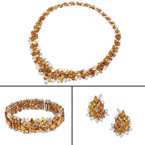 Diamond and 14K Jewelry Suite