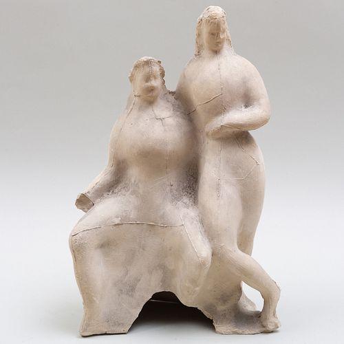 Elie Nadelman (1882-1946): Figures