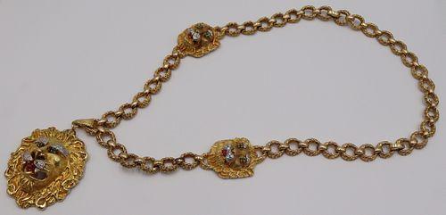 JEWELRY. Hammerman Bros. 18kt Gold, Diamond and