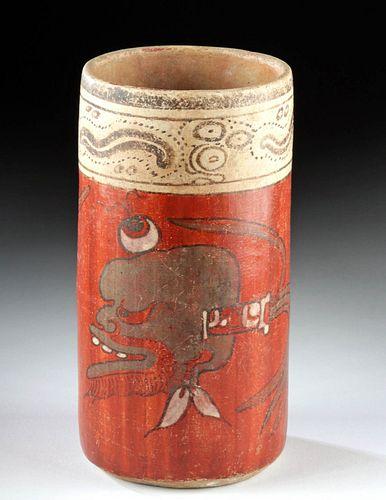 Incredible Maya Cylinder - God 'A' and Eyeball