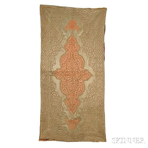 Ottoman Turkish Embroidered Cover