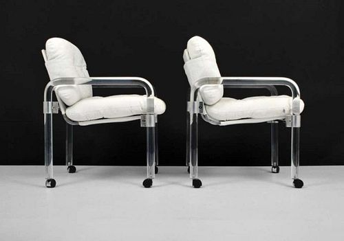 Pair of PIPE LINE Armchairs by Jeff Messerschmidt
