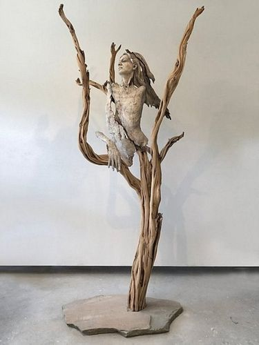 Tanya Ragir -Church of Trees- 1/1 Sculpture
