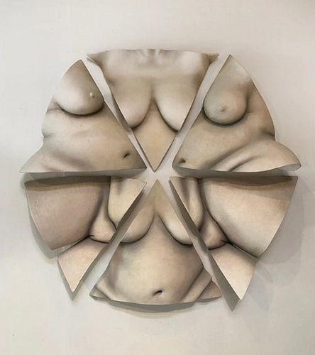 Tanya Ragir -SACRED GEOMETRY- Wall Sculpture 1/1