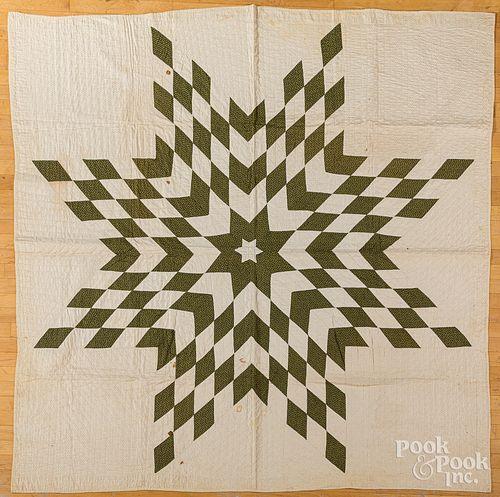 Bethlehem Star quilt, late 19th c.