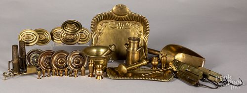 Group of brass