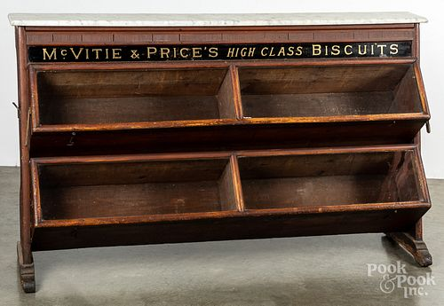 Country store advertising display case