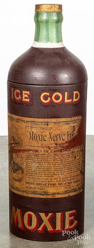 Ice Cold Moxie composition store display cabinet