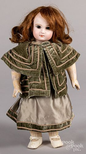 French bisque head Bebe Jumeau doll