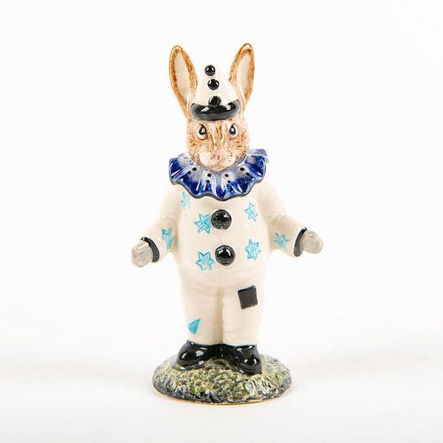 Royal Doulton Bunnykins, Clown Prototype Colorway