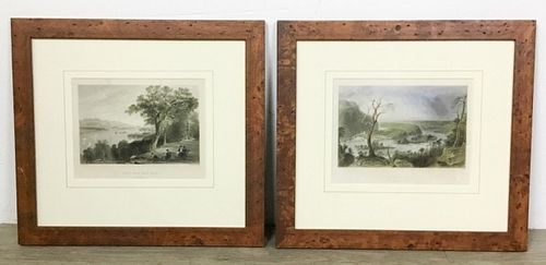 Two W.H. Bartlett Landscape Engravings