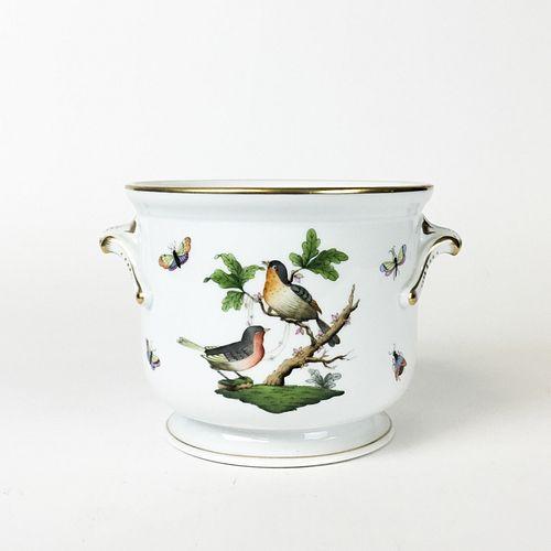 Herend Rothschild Bird Cachepot