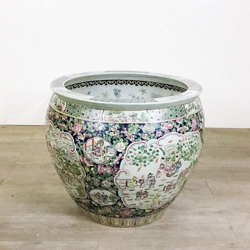Old Chinese Planter, Large Sized