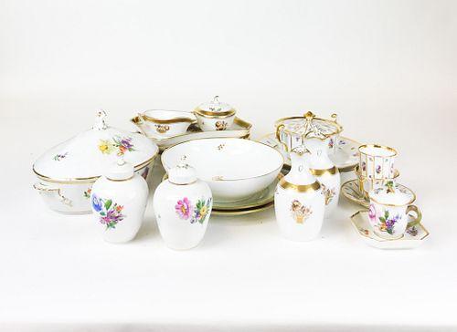 21 Pieces of Royal Copenhagen Porcelain
