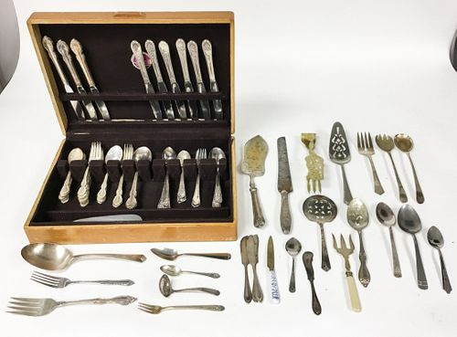 Silverplate Flatware & Serving Pieces
