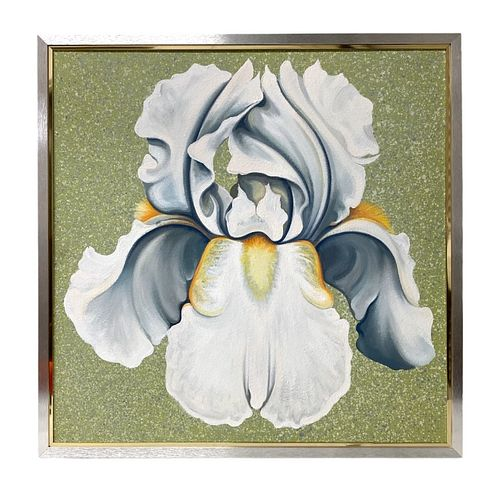 Lowell Nesbitt (1933-1993 American) Oil on Canvas