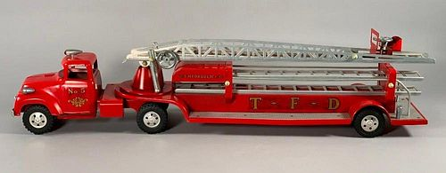 Tonka No.5 Fire Ladder Truck