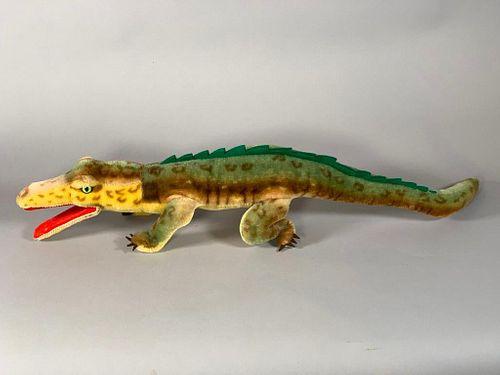 "Steiff Mohair ""Gaty"" Alligator"