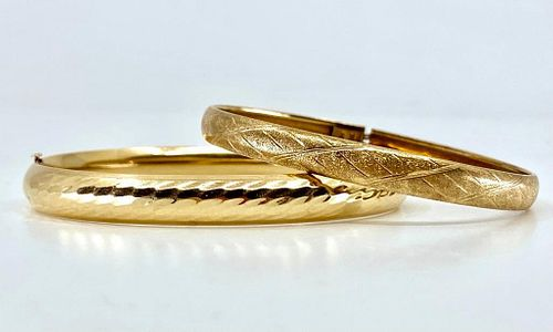 Two Gold Bangles