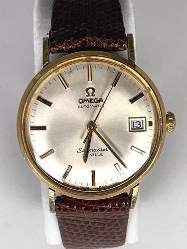 Vintage Omega Automatic Seamaster Deville Wrist Watch