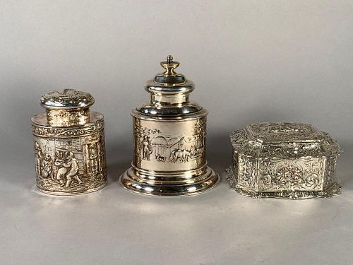 Three Silver Plated Articles