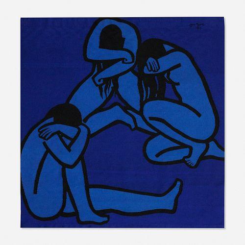 Jan Yoors, Weeping Women IV