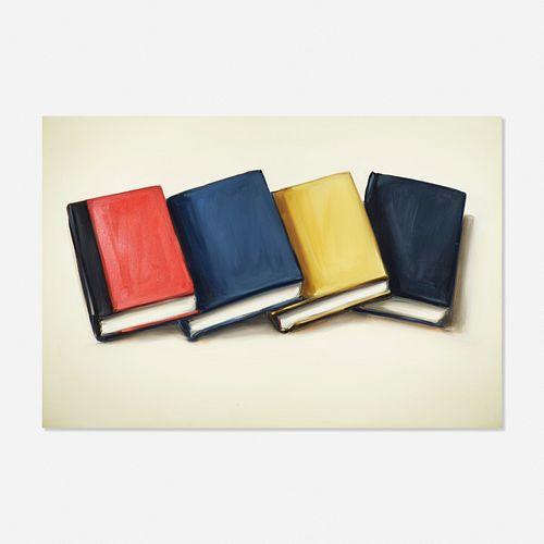 Lisa Milroy, Four Books