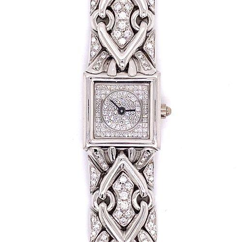 BVULGARI 18K Diamond Watch