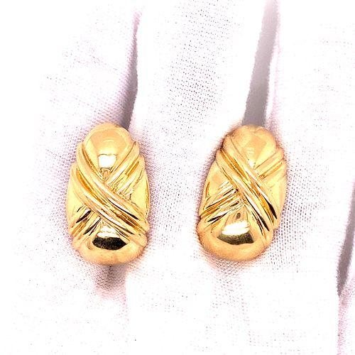 18K BVULGARI Clip EarringsÊ