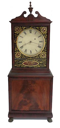 Aaron Willard Shelf Clock