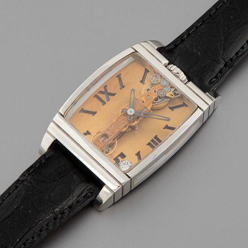 Corum Golden Bridge 50th Anniversary Platinum Wristwatch