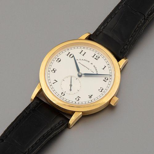 A. Lange & Sohne, Ref. 206.021 Saxonia 1815 Wristwatch