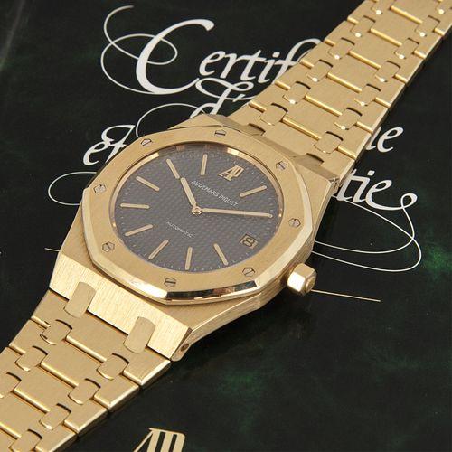 """Audemars Piguet, Ref. 14802BA Jumbo Royal Oak """"Jubilee"""" Wristwatch"""