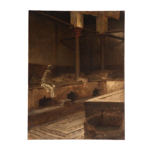 Attb. John Singer Sargent. Turkish Baths, oil