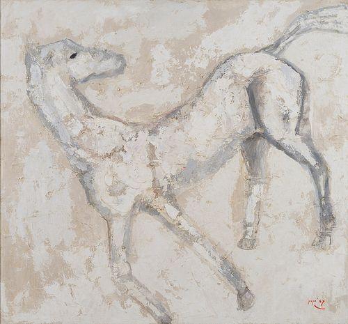 POPO ISKANDAR   White Horse