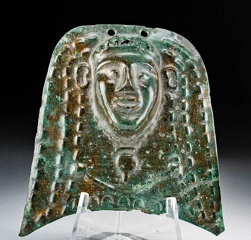 Egyptian Ptolemaic Bronze Ornament of Deity