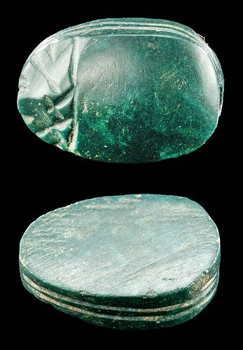 Elegant / Gorgeous Egyptian Jasper Scarab, ex-Mitry