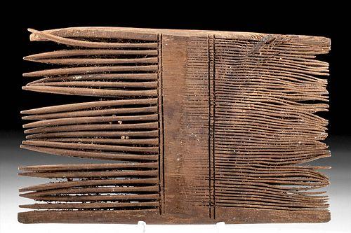 Romano-Egyptian Wood Comb