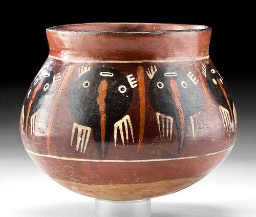 Nazca Polychrome Jar w/ Stingrays