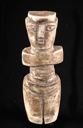 Egyptian Coptic Bone Female Idol