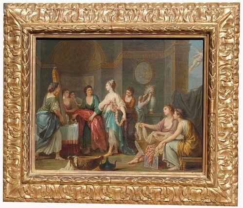 "Adele Romany (France, 1769-1846) ""La Toillette"""