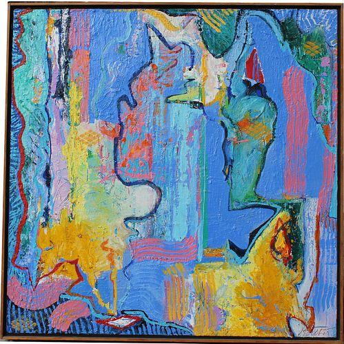 """Thomas Koether (NY, FL b. 1940) """"Tangier Boudoir"""""""