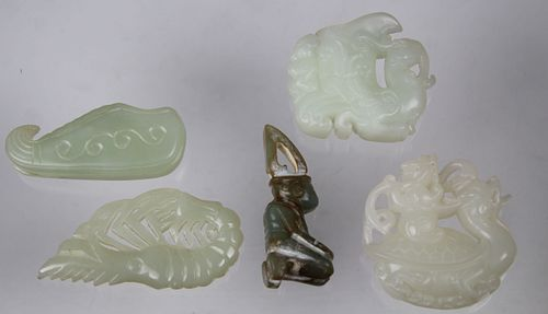 (5) Chinese Carved Articles